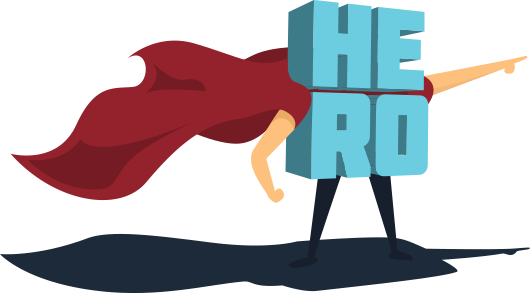 HERO Word Cape
